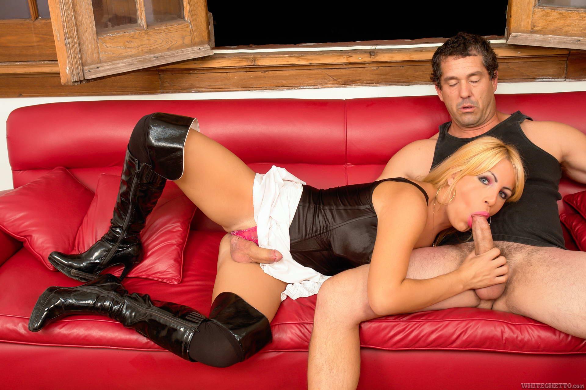 Pantyhose male ejaculation