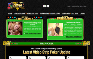 Visit V Strip Poker