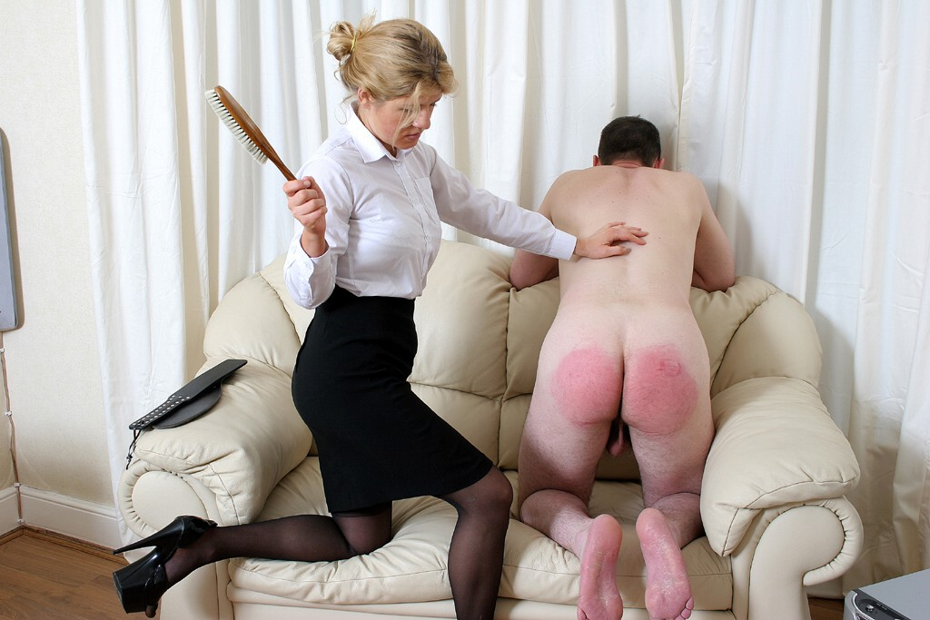 Group Of Schoolgirls Getting Spanked One By