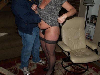 Fondling Panties 34
