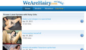 Visit We Are Hairy Mobile