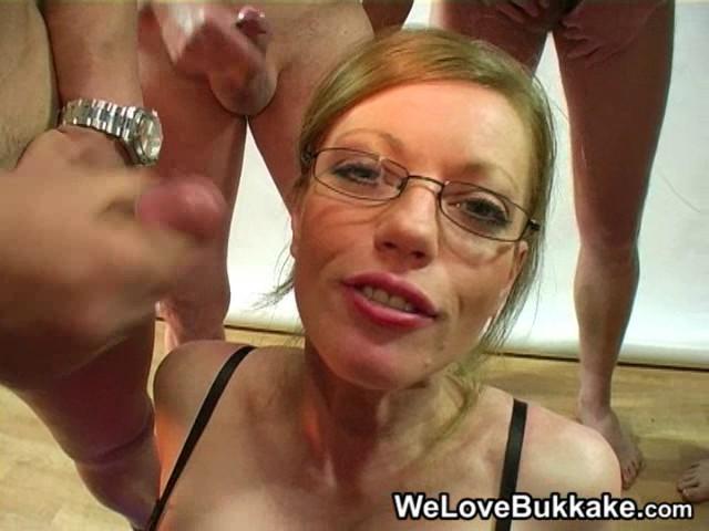 Girl we love bukkake gallery she