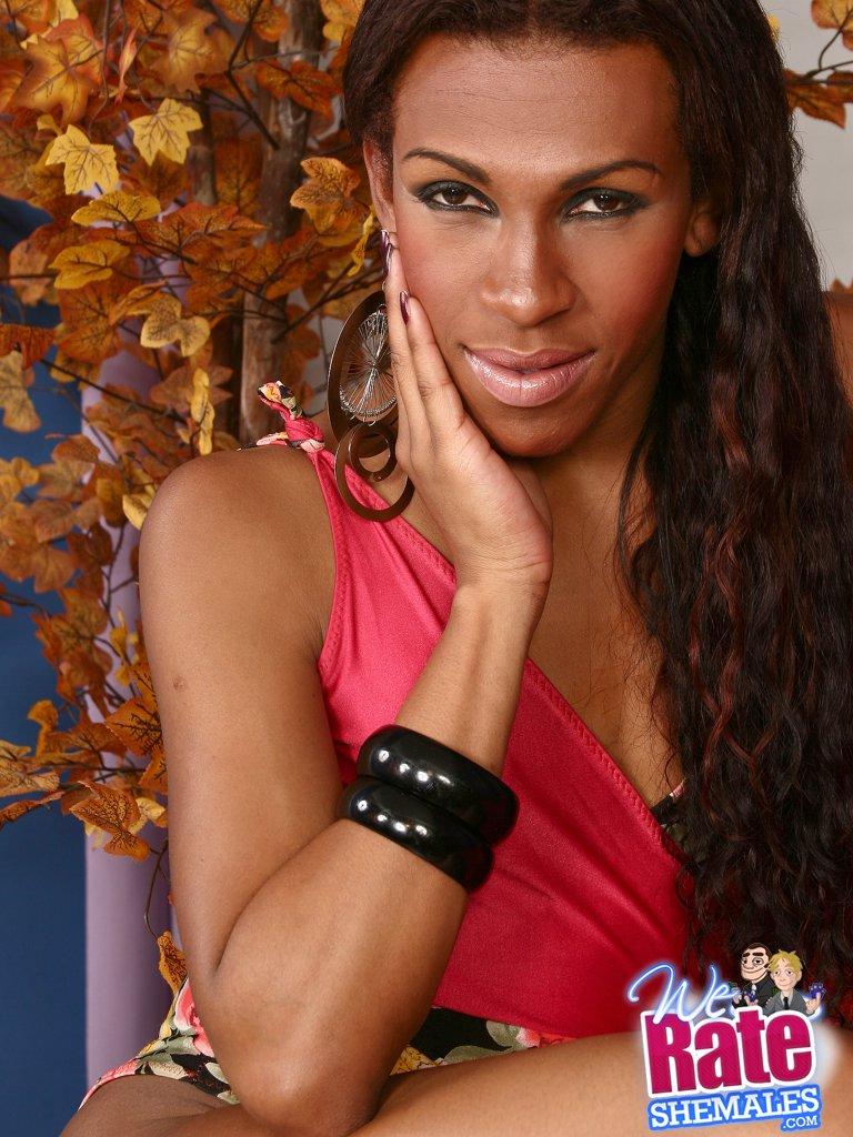 Drag transvestite striper clothes