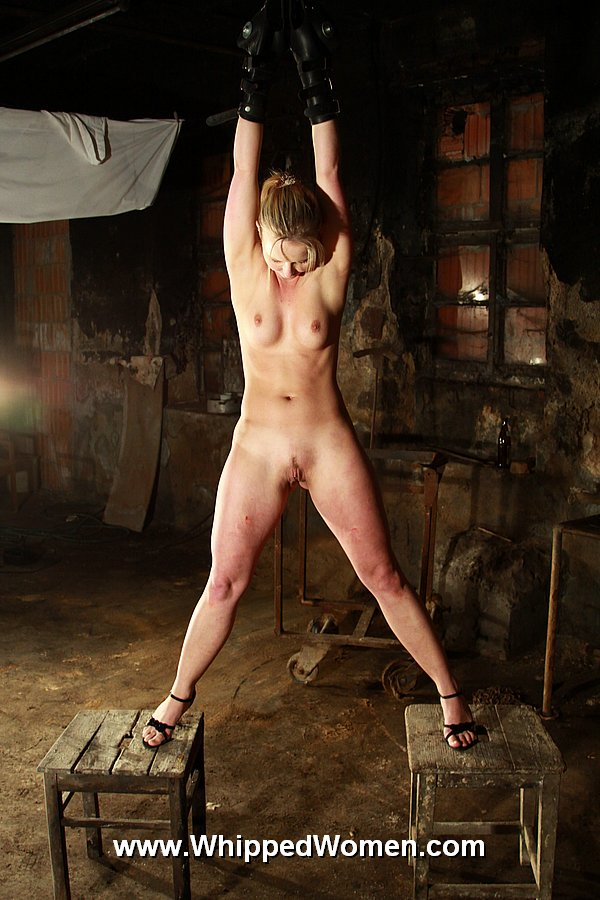 naked girl whipped