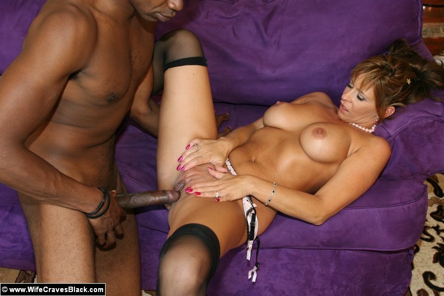 Wife craves black porn