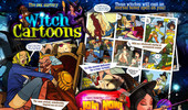 Visit Witch Cartoons