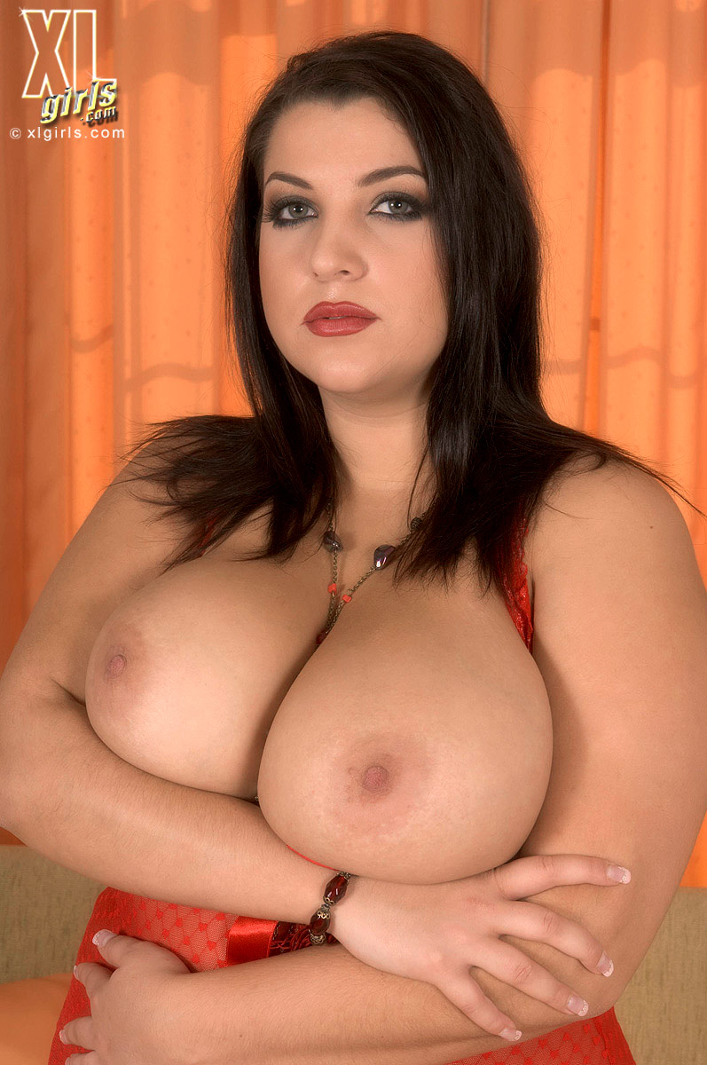 Full Figured Woman Porn regarding heavy titted chunky brunette dressed in red takes care of hard