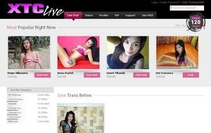 Visit XTC Live Transsexuals