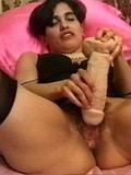 Vigorous latina in rubber delight