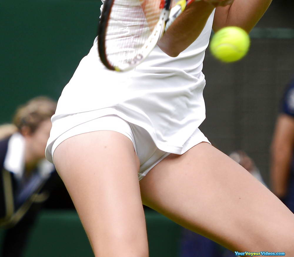 Sports stars voyeur