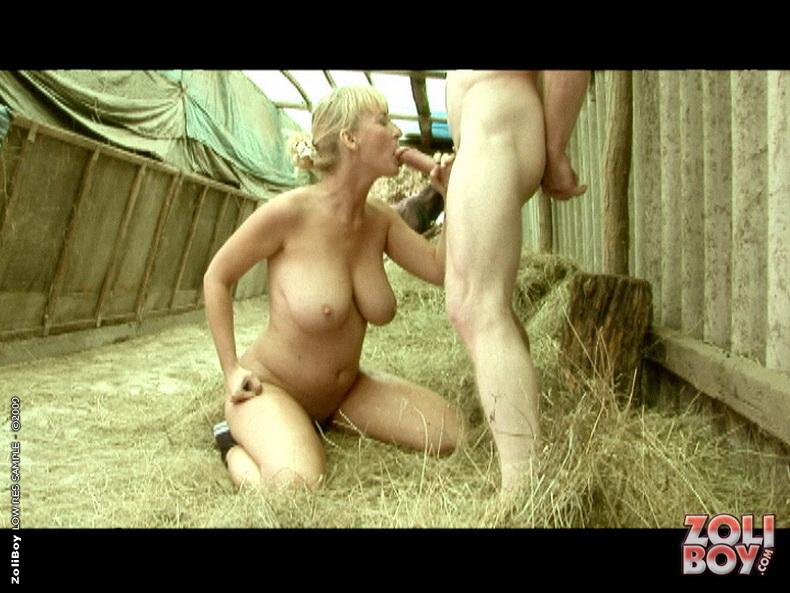 Старый крестьянин ебет бабу